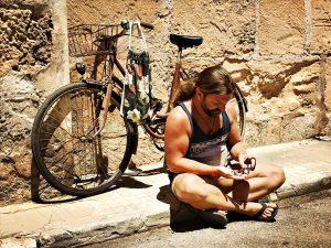 Campos, Flohmarkt, Bike, Sonne