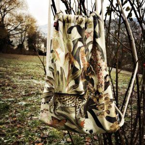 Tiger, Dschungel, Beige, Detailliert, Gefüttert